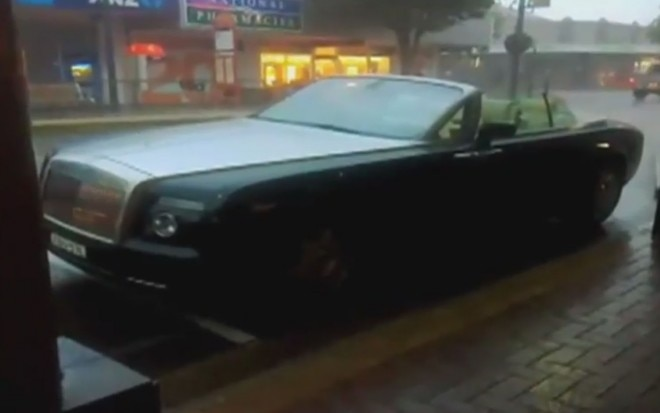 Rolls Royce Phantom Drophead Coupe Front Three Quarter Rain Video 660x413