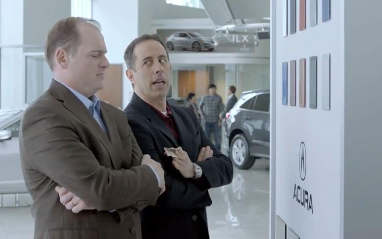 Seinfeld NSX Ad Bribe1