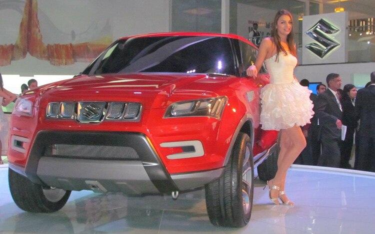 Suzuki XA Alpha Concept Front Three Quarter1