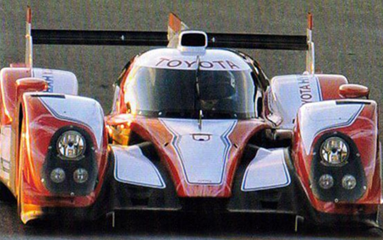 Toyota LMP1 Car Front1
