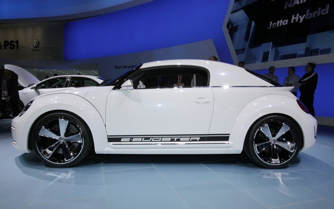 Volkswagen E Bugster Concept Side