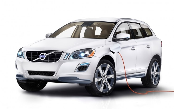 Volvo XC60 Plug In Hybrid Concept Front Three Quarter1 660x413