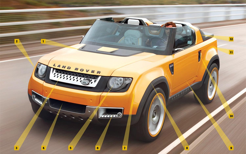 2011 land rover dc100 concept side 2 1280x960 wallpaper - Rear