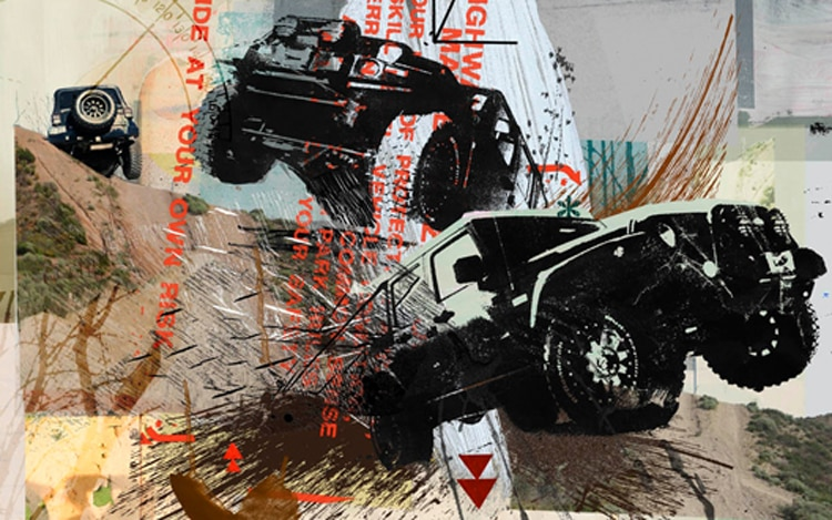 Off Road Illustration Cropped