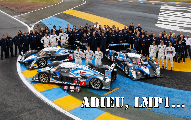 Peugeot Lmp1 Team Adieu