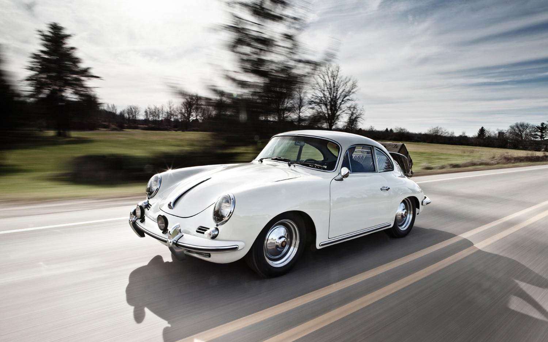 1960 1963 Porsche 356B Front Left Side View