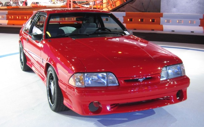 1993 Ford Mustang Cobra R Front Three Quarters View1 660x413