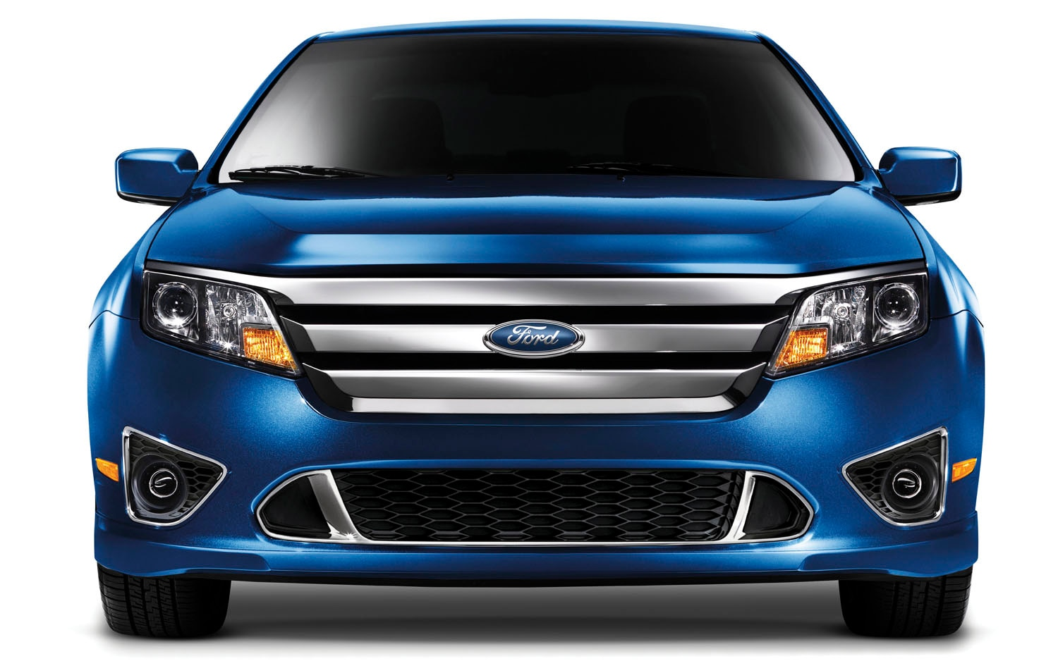 2011 Ford Fusion Front View1
