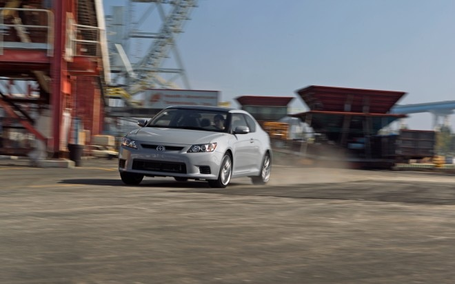 2011 Scion TC Front Three Quarters In Motion1 660x413