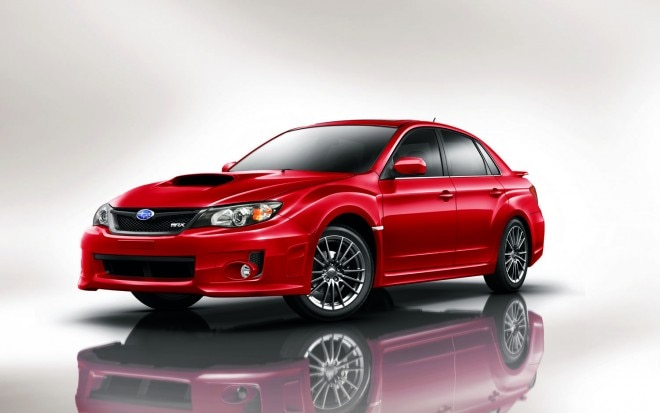 2011 Subaru WRX 4 Door Front Three Quarter1 660x413