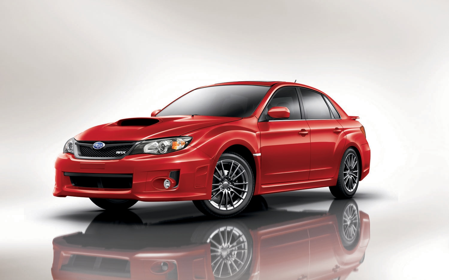 2011 Subaru WRX 4 Door Front Three Quarter1