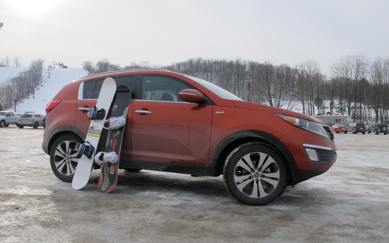 2011 Kia Sportage EX Right Side View1