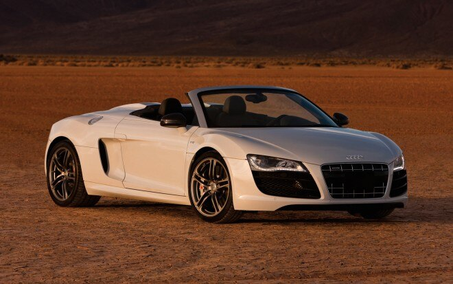 2012 Audi R8 GT Spyder Front Three Quarter1 660x413