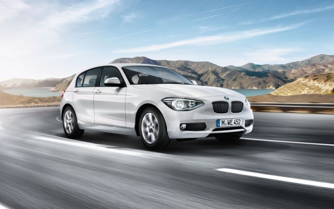 2012 BMW 1 Series Hatchback Front Three Quarter1 660x413
