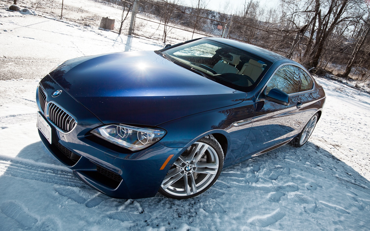 2012 BMW 650i Coupe Front Left View1