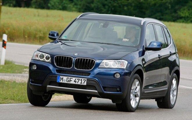 2012 BMW X3 Front Three Quarter12 660x413