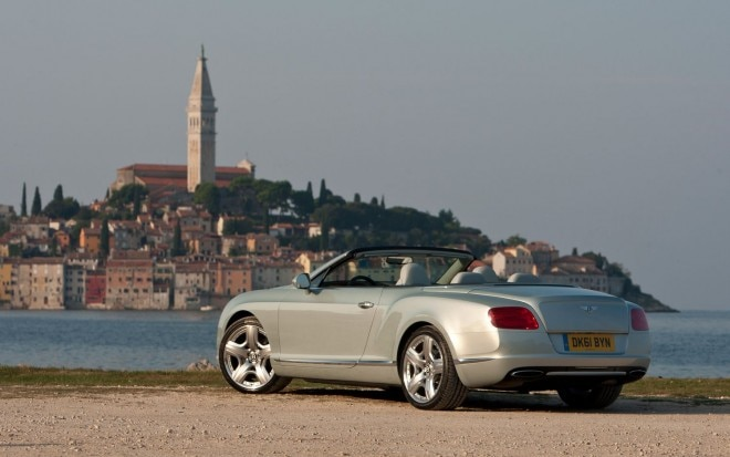 2012 Bentley Continental GTC Rear Three Quarters1 660x413