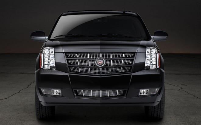 2012 Cadillac Escalade Premium Front View1 660x413