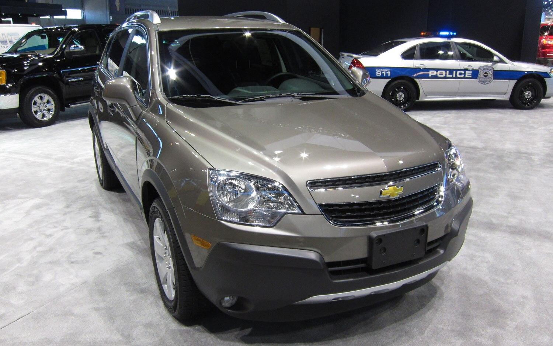 2012 Chevrolet Captiva Front View1