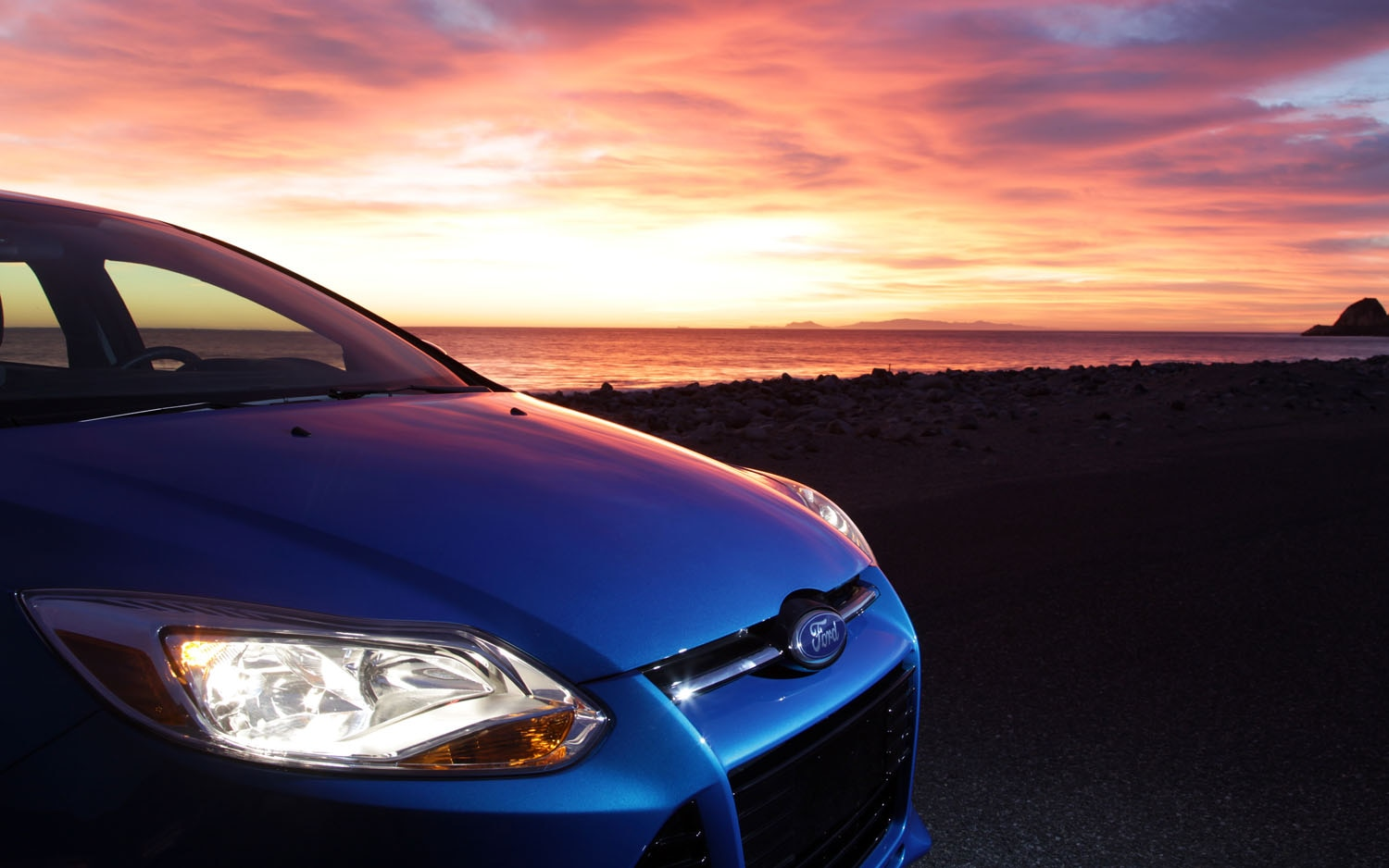 2012 Ford Focus Front Clip Sunset1