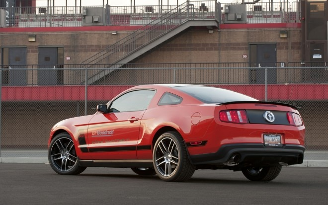 2012 Ford Mustang Boss 302 Rear Three Quarter BFG1 660x413