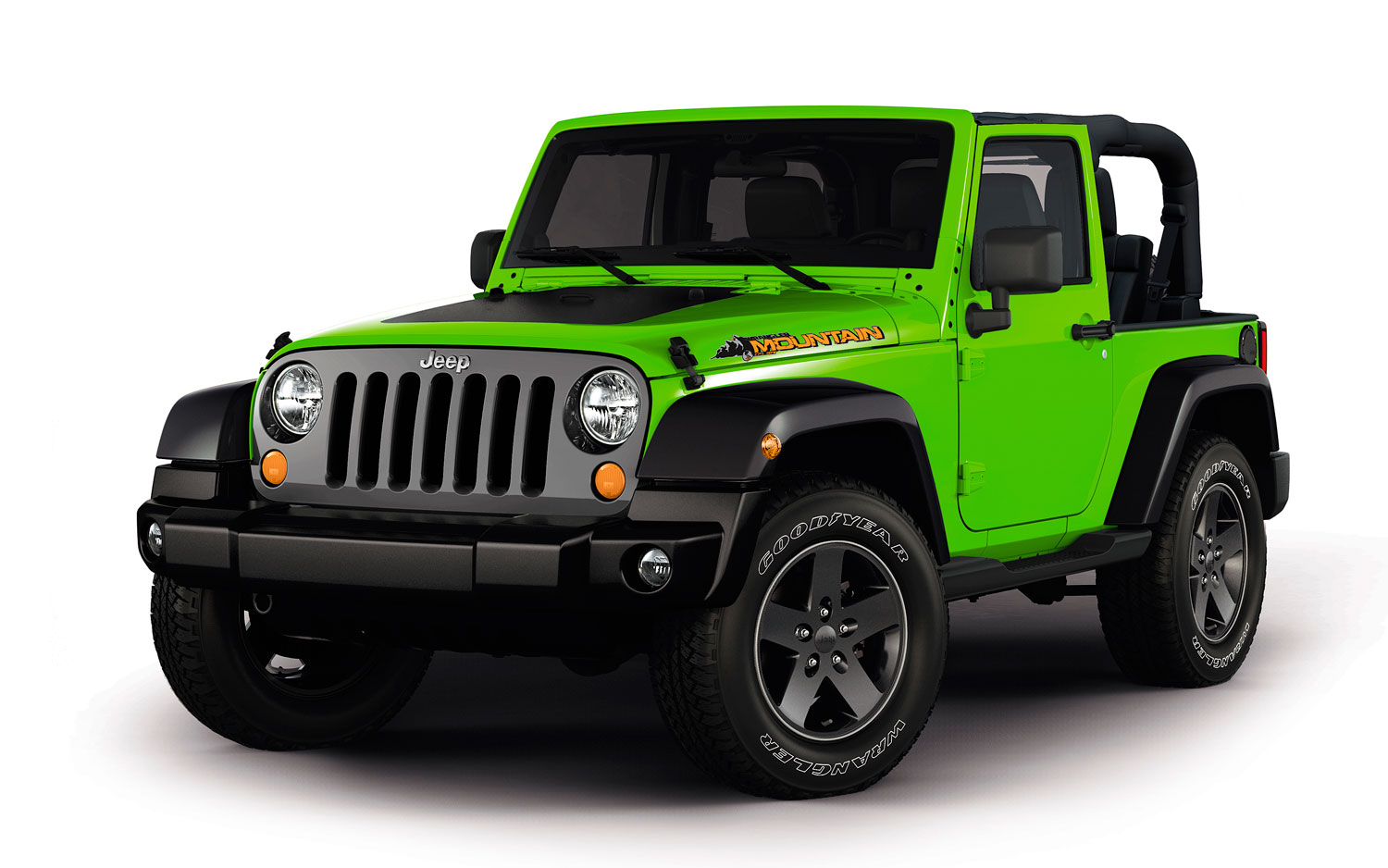 2012 Jeep Wrangler Mountain Edition Front View1
