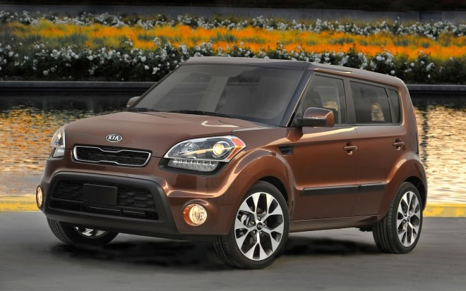 2012 Kia Soul Red Rock Special Edition Front Three1 660x413