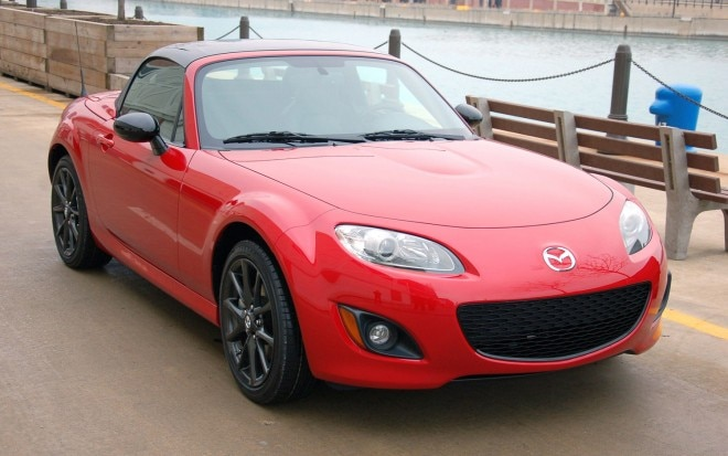 2012 Mazda MX 5 Miata Special Edition Front Three Quarter Street11 660x413