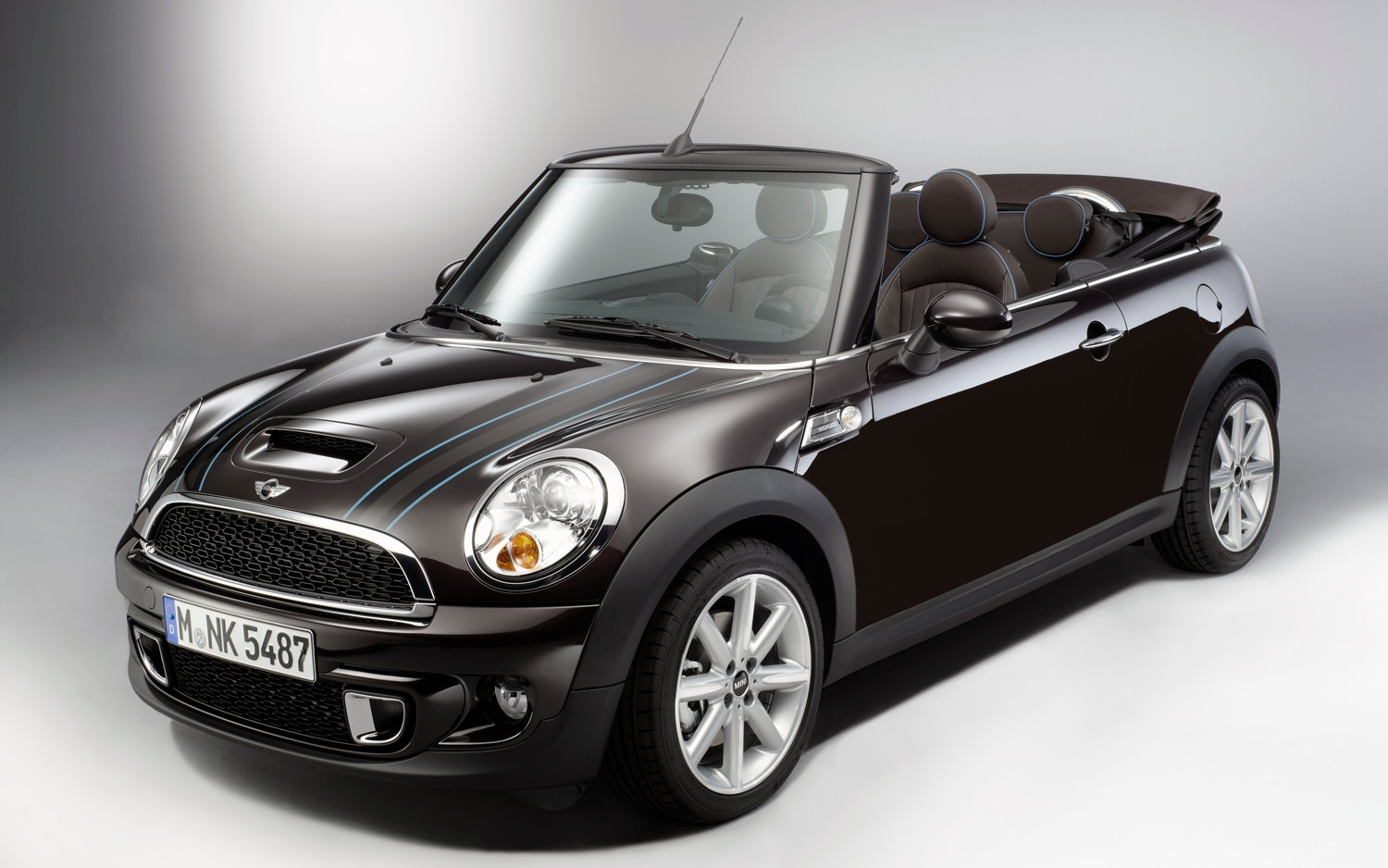 2012 Mini Cooper S Convertible Highgate Front Three Quarter Roof Down1
