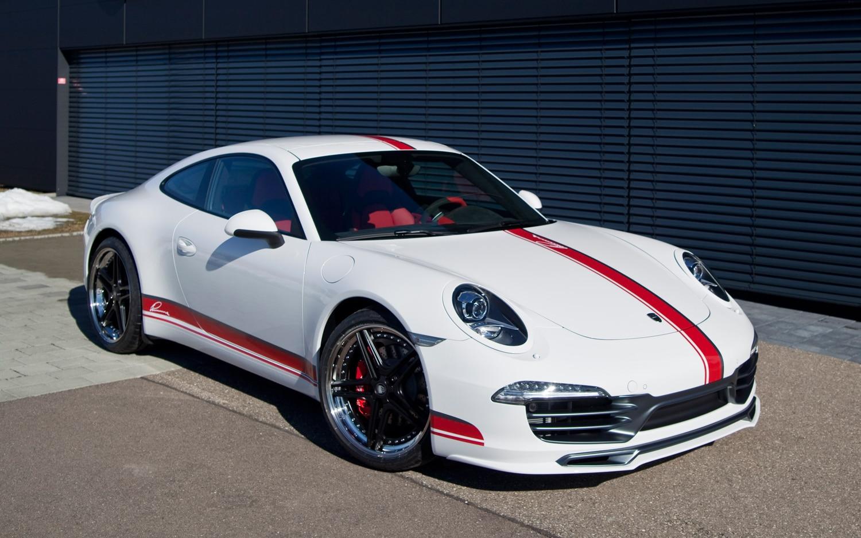 2012 Porsche 911 Lumma Design CLR 9 S Front Three Quarter 021