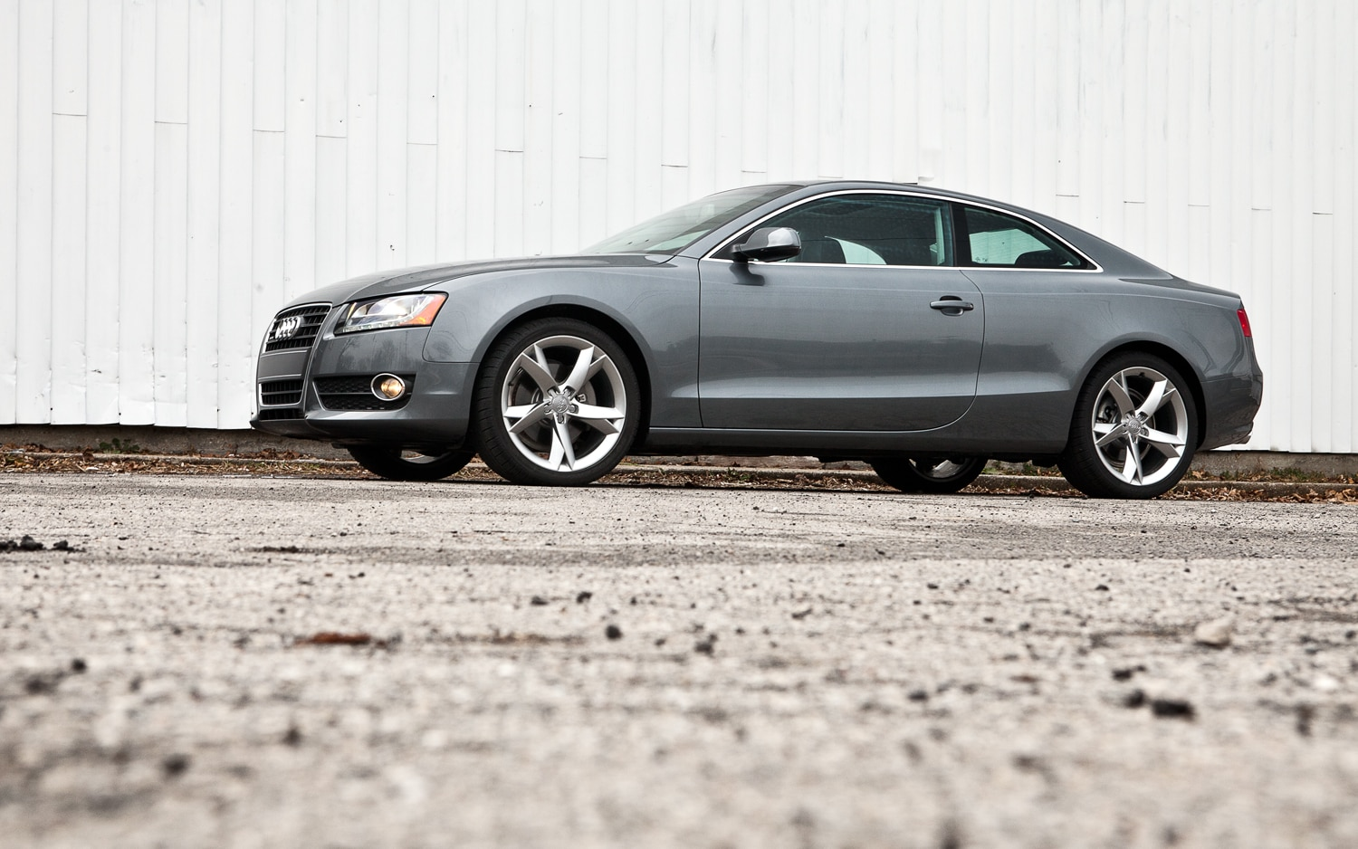 2012 Audi A5 Coupe Left Side View1