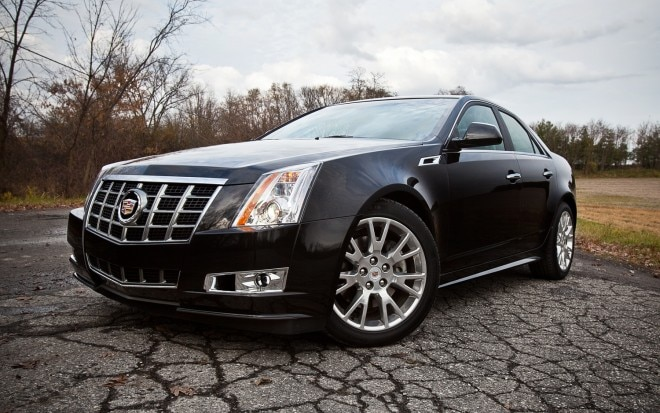 2012 Cadillac CTS Premium Collection Front Left View 21 660x413