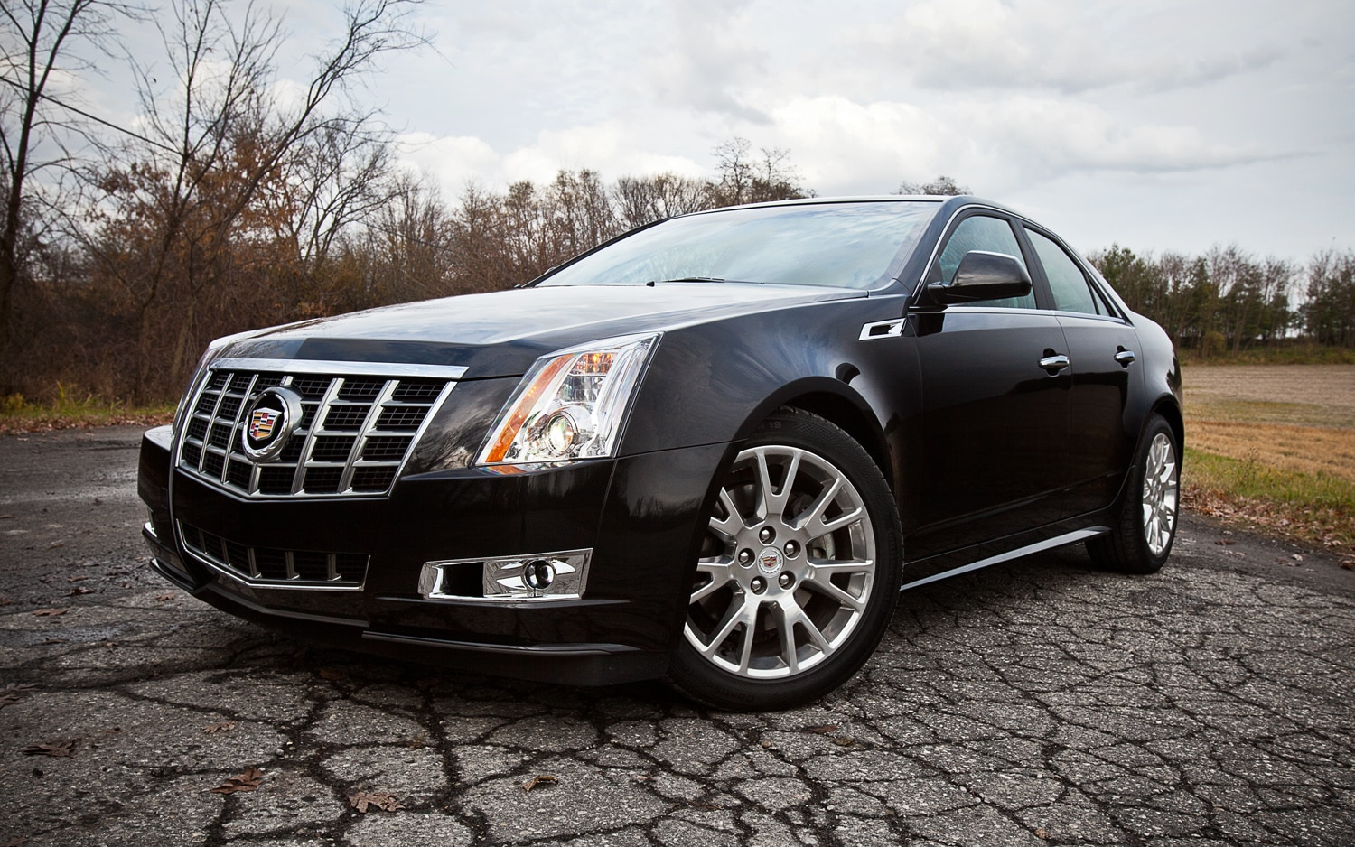 2012 Cadillac CTS Premium Collection Front Left View 21