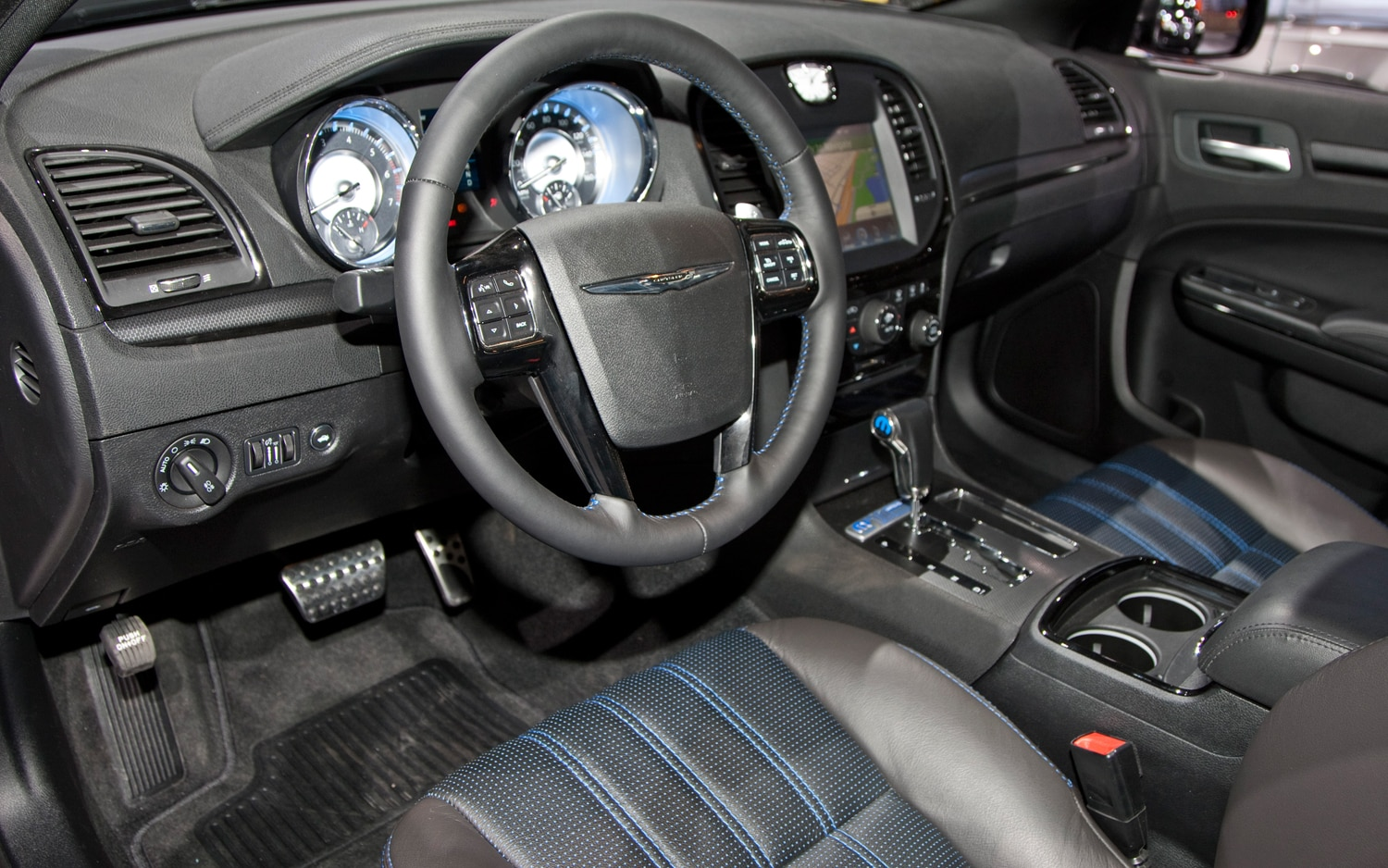 First look 2012 chrysler mopar 12 300 automobile magazine - Chrysler 300 interior accessories ...