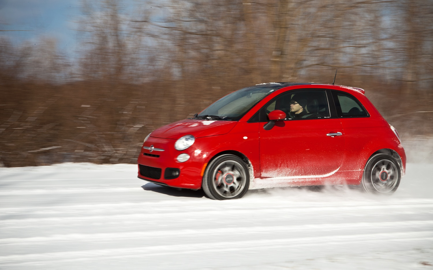 2012 Fiat 500 Left Side View1