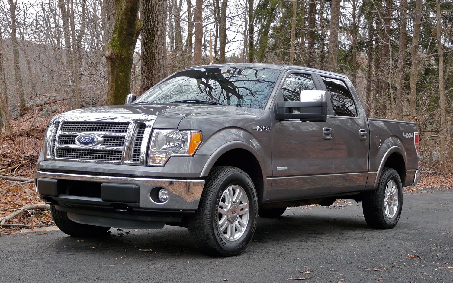 2012 Ford F150 EcoBoost Front Left Side View 2