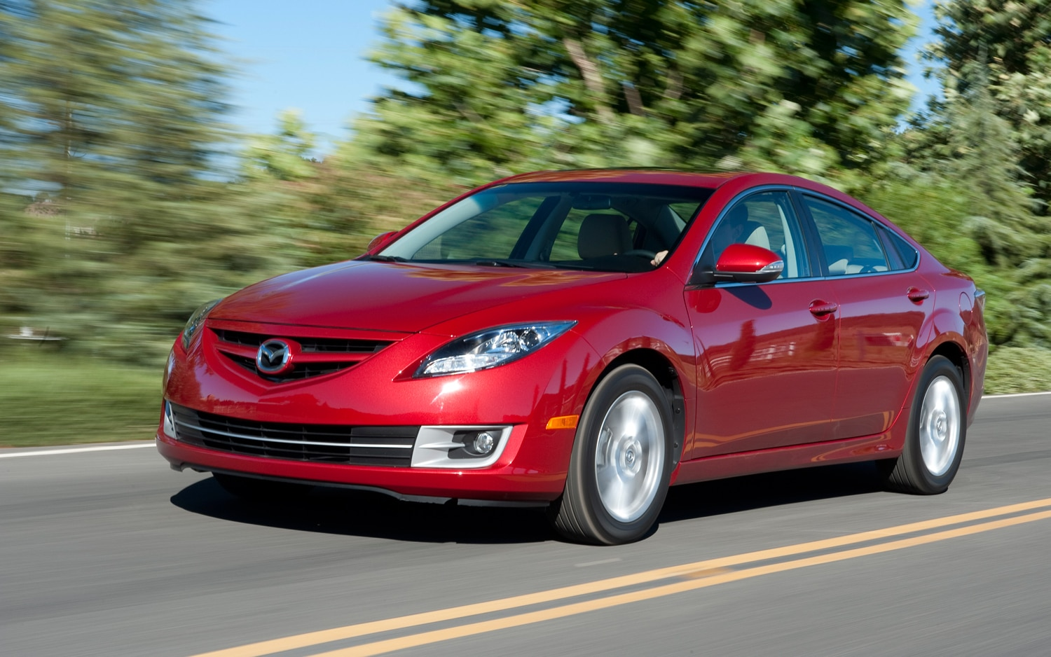 2012 Mazda6 Front Left View1
