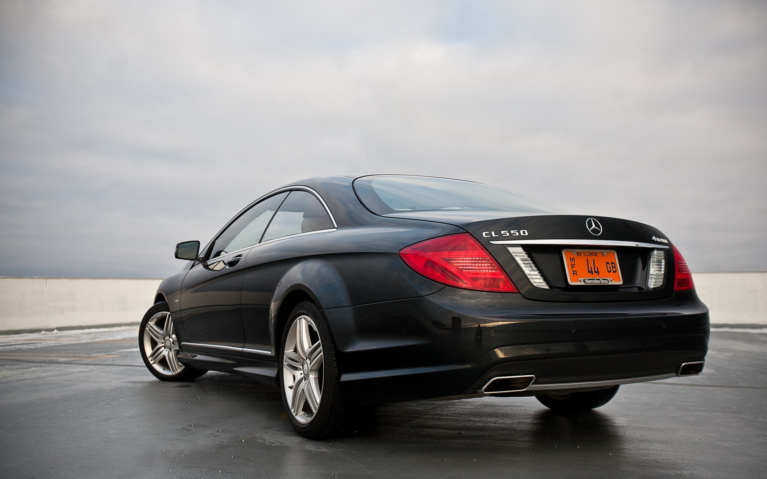 2012 Mercedes Benz Cl550 4matic Editors Notebook
