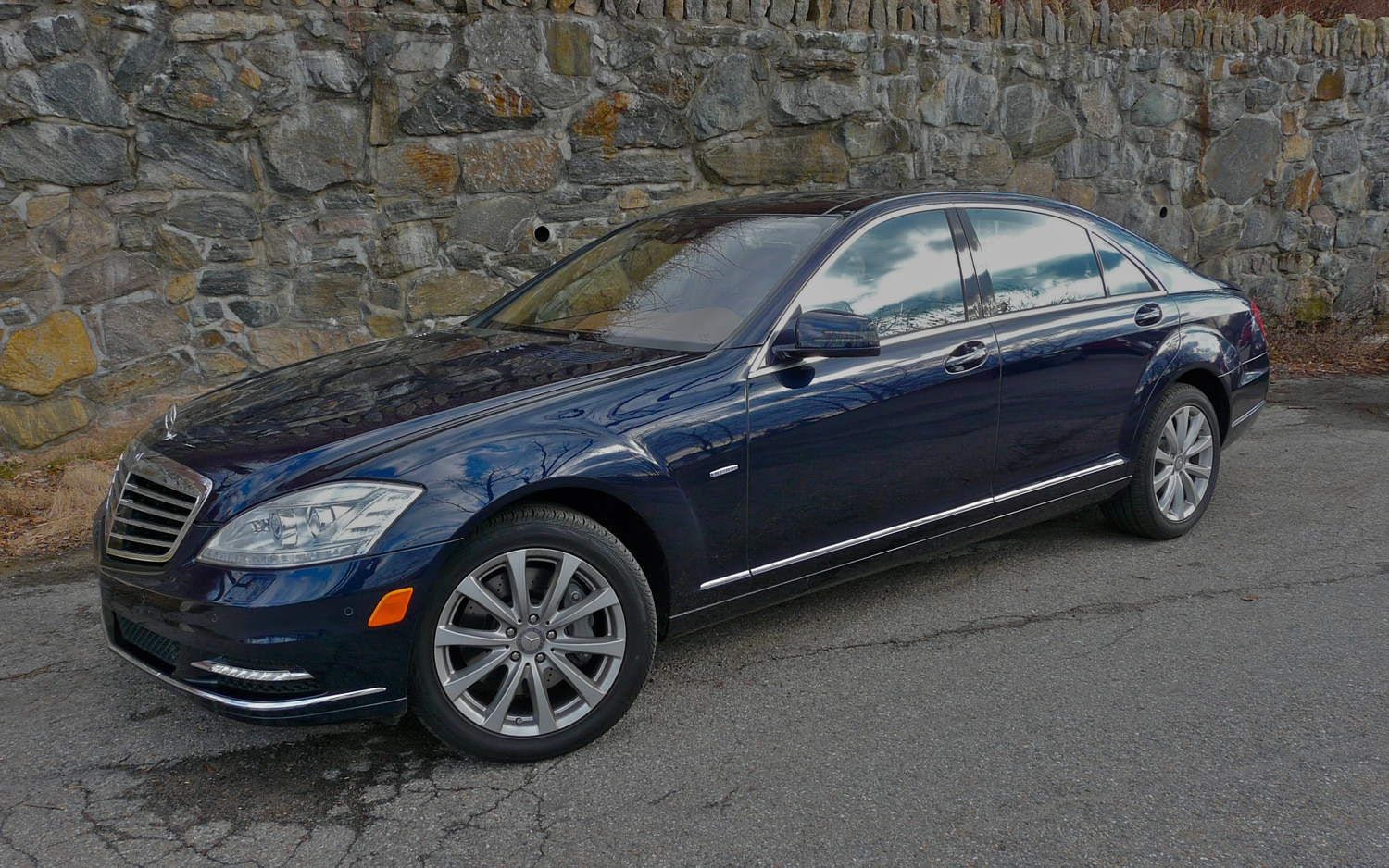 2012 Mercedes Benz S350 BlueTEC Front Left Side View1