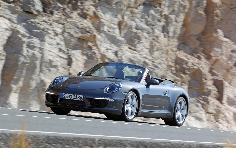 2012 Porsche 911 Carrera Cabriolet Front Left View1
