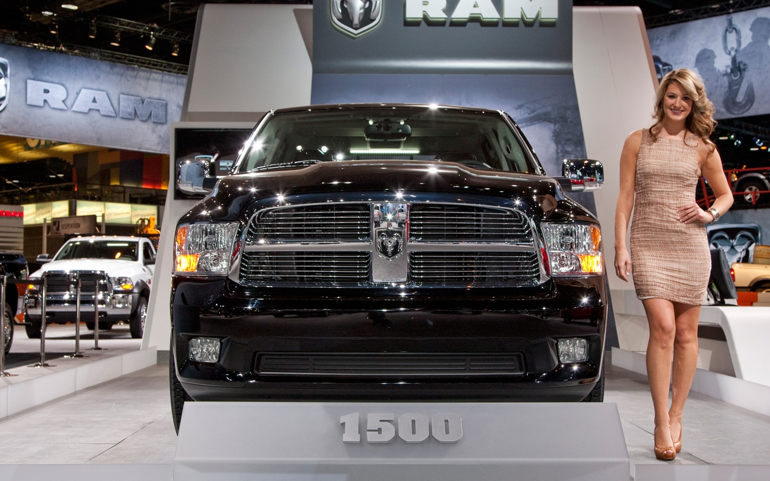 2012 Ram Laramie Limited Front View1
