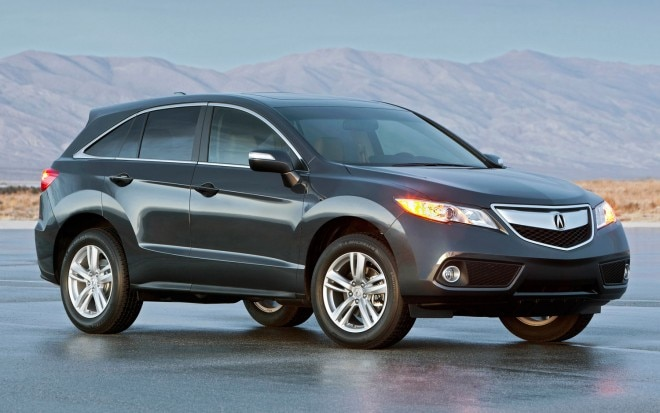 2013 Acura RDX Front Three Quarters View 660x413