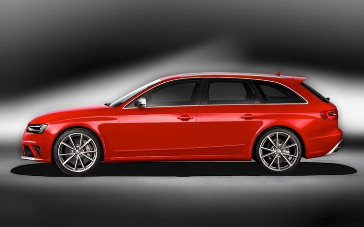 2013 Audi RS4 Avant Leak Profile1