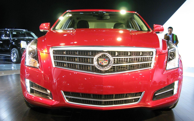 2013 Cadillac ATS Front Grill1