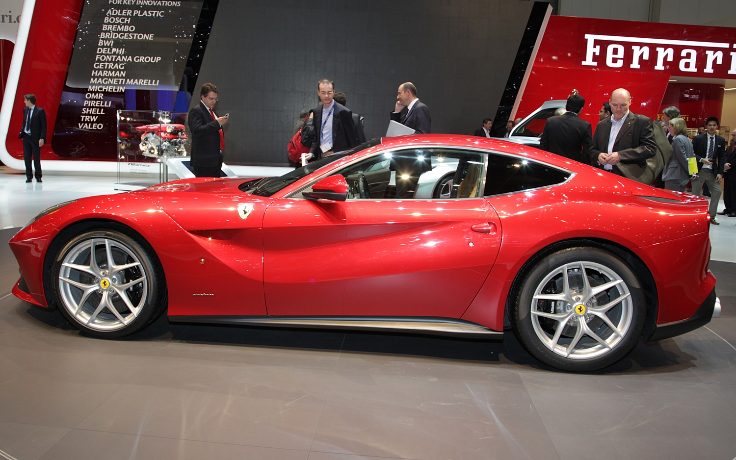 2013 Ferrari F12 Berlinetta Side1