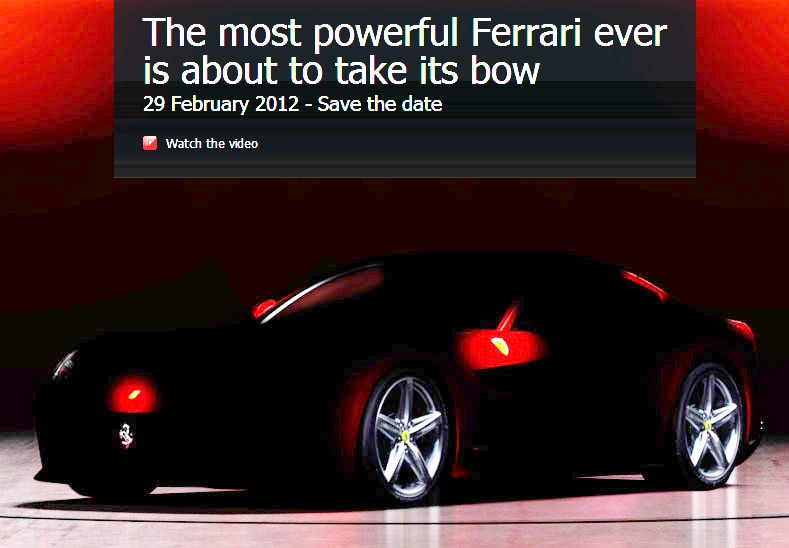 2013 Ferrari F620 GT Teaser1