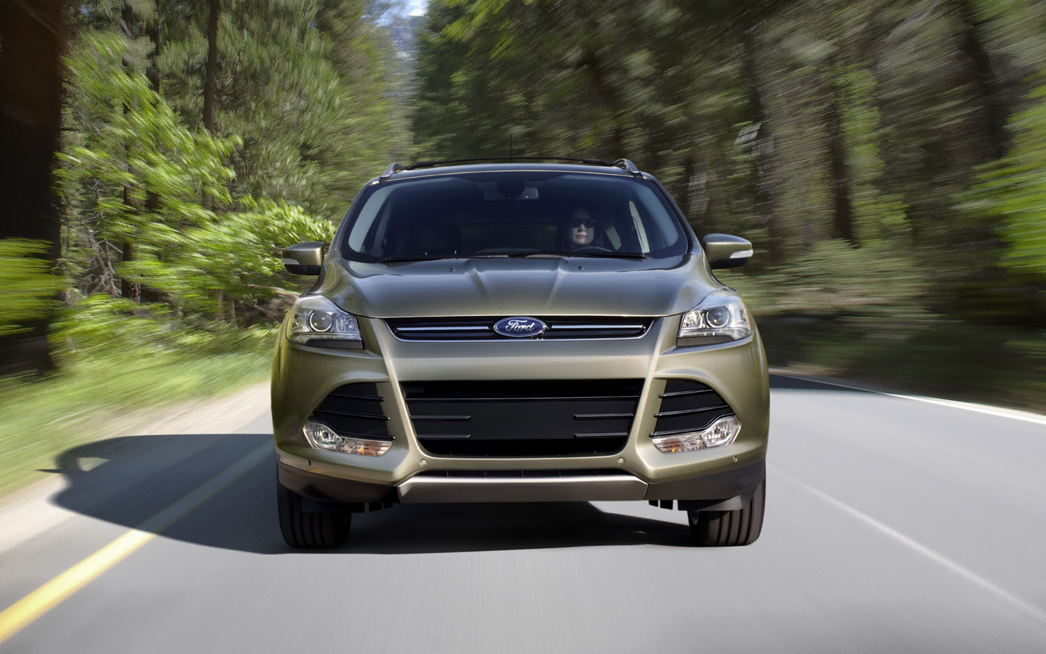 2013 Ford Escape Front View1