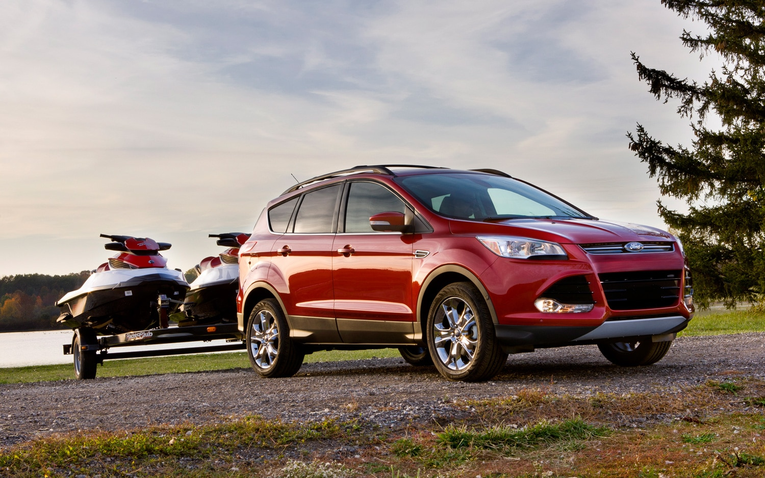 2013 Ford Escape Towing1