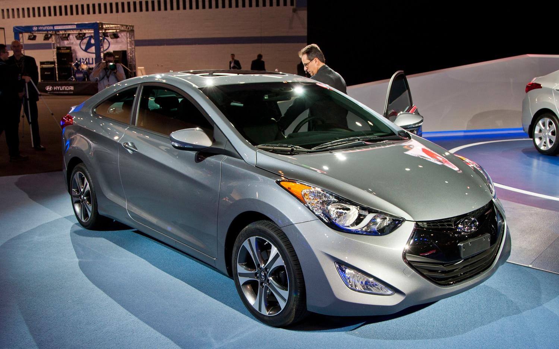 2013 Hyundai Elantra Coupe First Look  2012 Chicago Auto Show