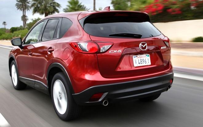 2013 Mazda CX 5 Rear Three Quarter1 660x413